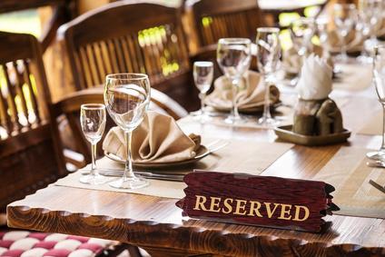 Restaurant Tisch Reservierungen